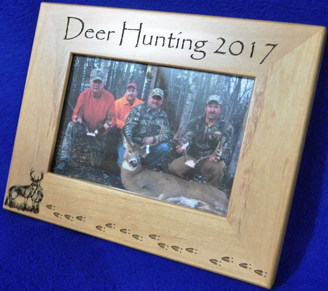Springbrook laser engraving hunting picture frames for customized hunting frames click here jeuxipadfo Choice Image